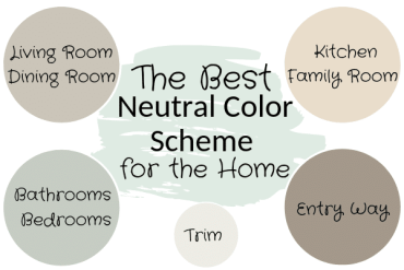 A Neutral Whole House Color Scheme