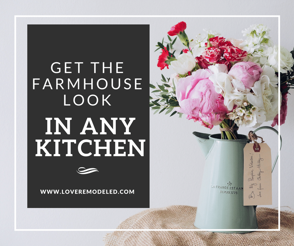 Cheap and Easy Ways to Get A Country Farmhouse Kitchen in Any House