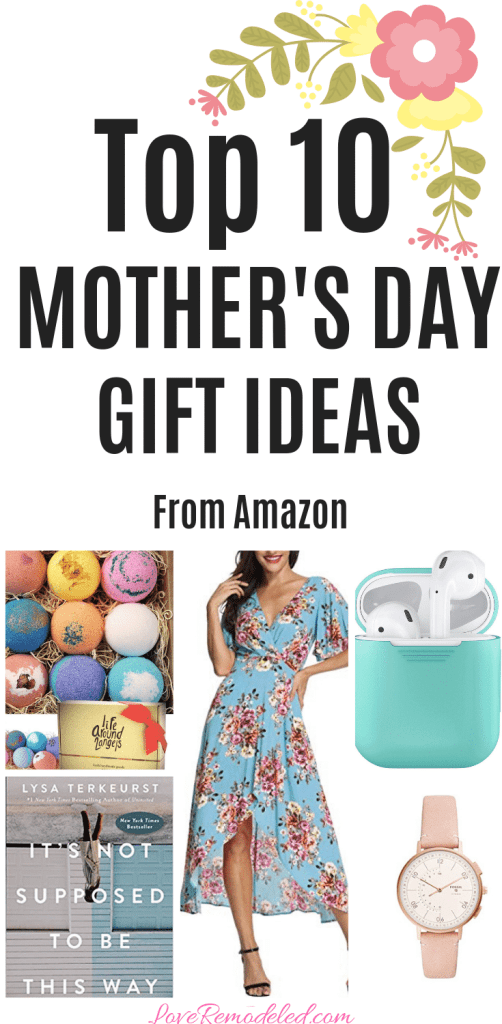 Top Ten Mother's Day Gift Ideas from Amazon