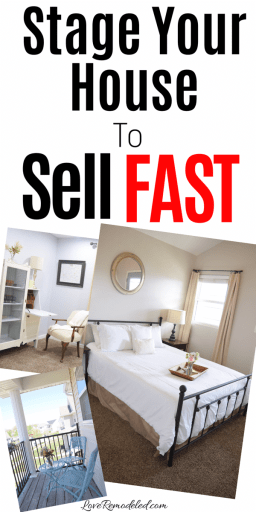 Stage Your House to Sell Fast