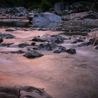 Sunrise, South Yuba River, CA