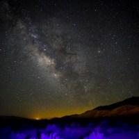 Milky Way, photographed near Lone Pine, CA