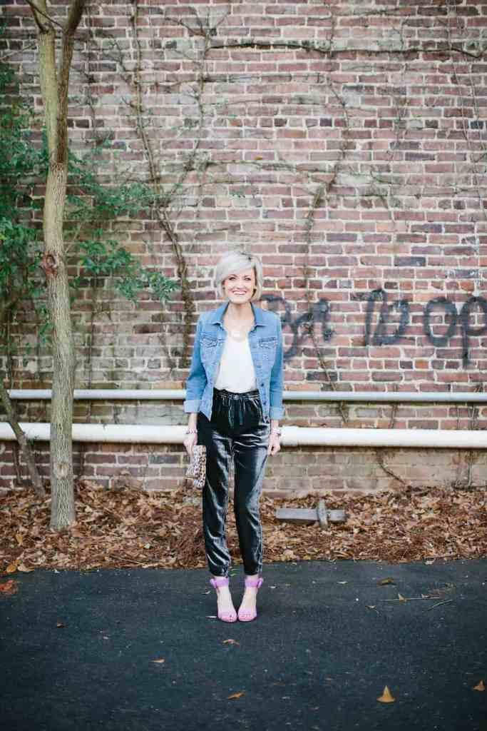 velvet joggers - @loverlygrey www.loverlygrey.com