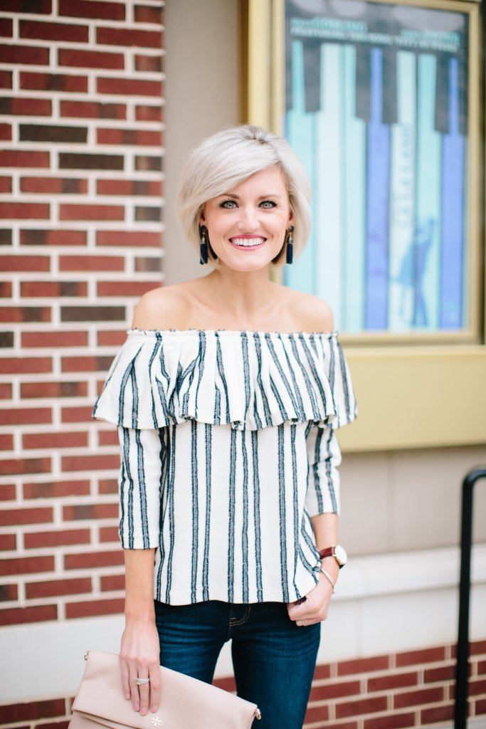 striped ots top - loverlygrey.com
