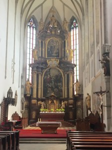 Day Trip Cesky Krumlov church