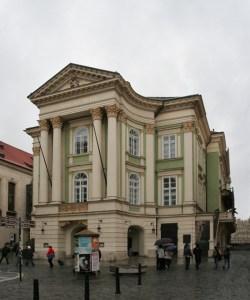 Estates Theatre outside
