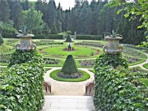 Konopiste garden dl