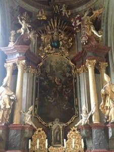 Kunta Hora - Church alter 1