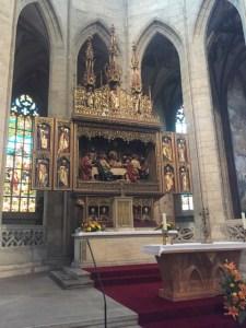 Kunta Hora - St Barbory inside