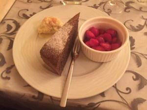 Meet course dessert 2