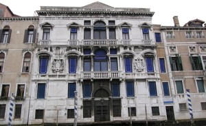 Palazzo Mocenigo front from canal