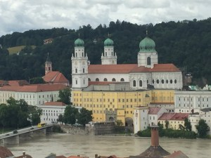 Passau view at overlook st marie to st stephens