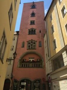 Regensburg walking tour - tower