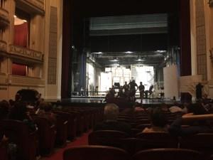 Vienna Opera House stage