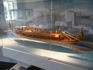 boat museum model