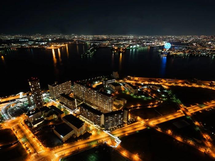 大阪湾 夜景