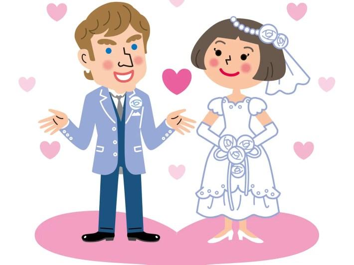 国際結婚 新郎新婦