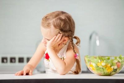 野菜が嫌いなアメリカ人の子ども