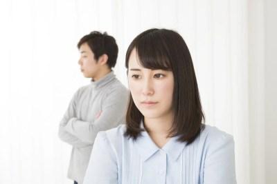 沈黙が多いカップルのイメージ