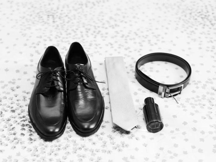 結婚式での男のファッションアイテム