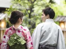 日本人女性を口説く外国人