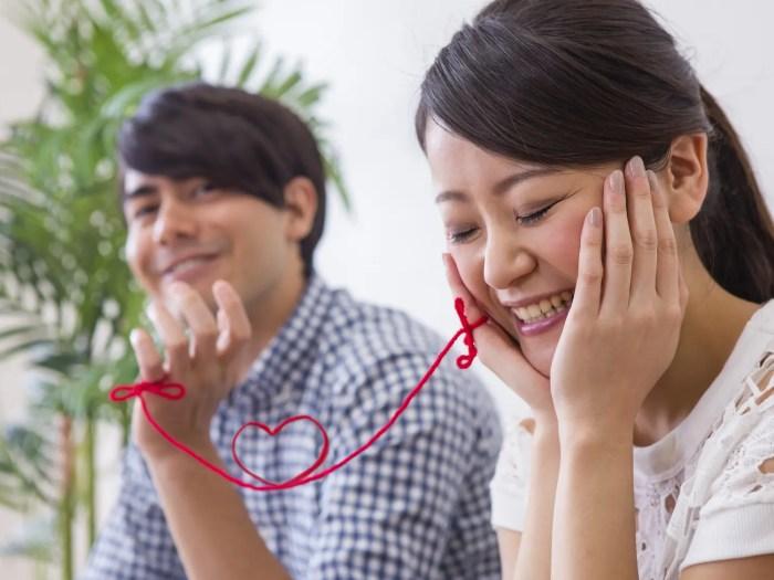 好きな人に好かれる女性 赤い糸で結ばれる男女