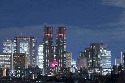 東京都庁 夜景