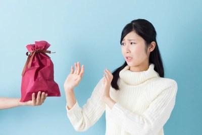 プレゼントを貰うのを嫌がるミニマリスト女子