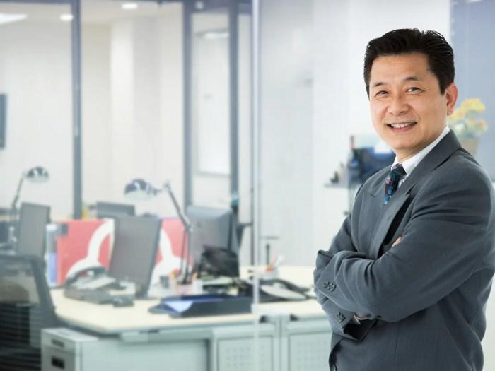 50代男性 ビジネスマン