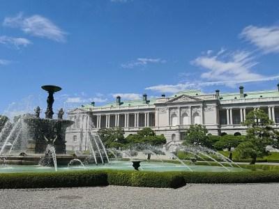 迎賓館赤坂離宮の美しい噴水庭園