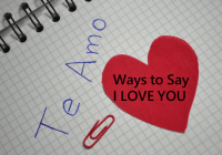Ways to say I LOVE YOU