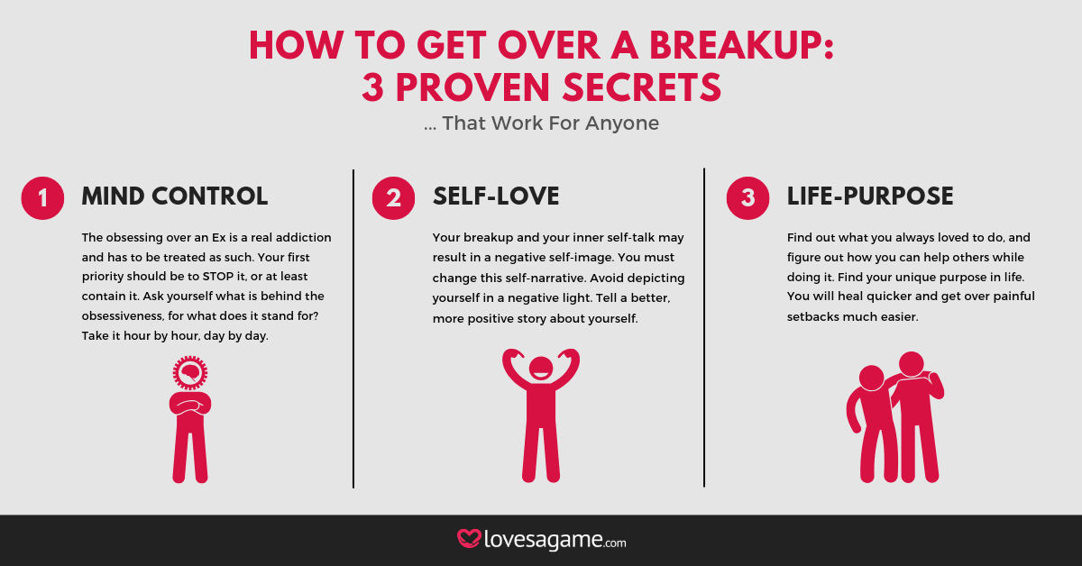 How to Get Over a Breakup: 3 Proven Secrets That Worked for Me
