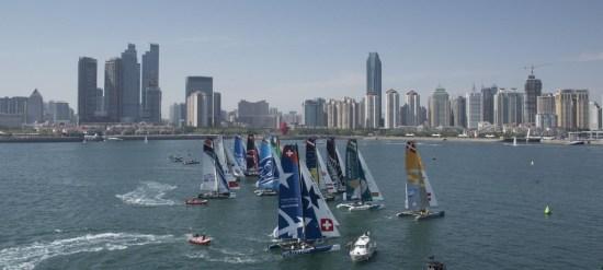 extreme sailing series qingdao