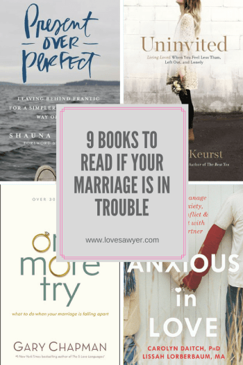 Books to Read if your Marriage is in Trouble