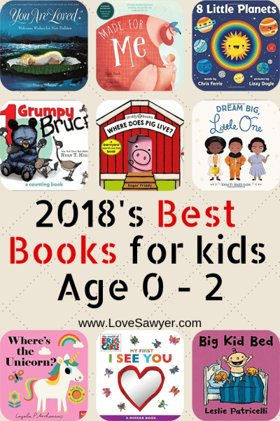 2018's Best Books for Kids Age 0 - 2