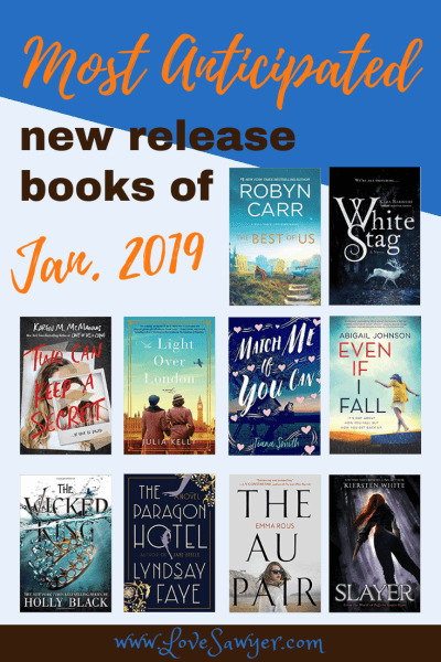 Most Anticipated New Releases January 9, 2019
