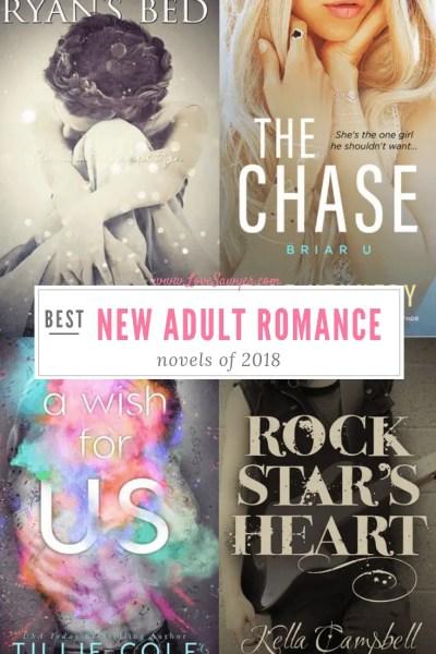 Best New Adult Romance Novels of 2018 - Book List - Love, Sawyer