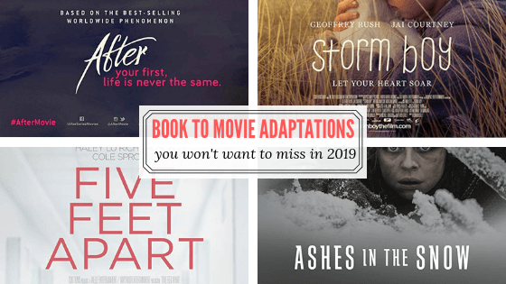2019's Most Anticipated Book to Movie Adaptations