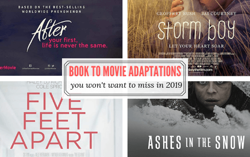 Book to Movie Adaptations 2019