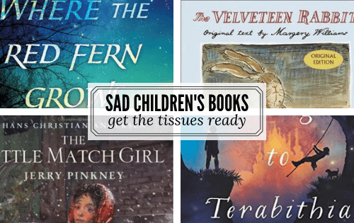 Most depressing books for kids