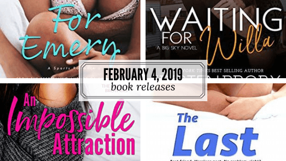Book Releases (February 4, 2019)