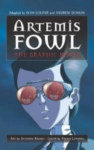 2019 book to movie adaptations Artemis Fowl by Eoin Colfer
