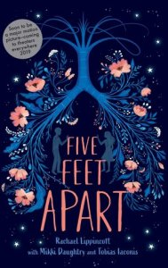 best young adult romance novels five feet apart by rachel lippincott