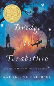 Depressing books for kids Bridge to Terabitha by Katherine Paterson