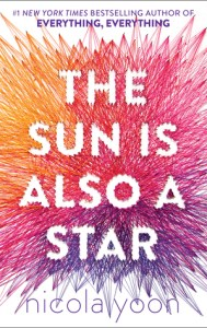 2019 book to movie adaptation The Sun is Also a Star by Nicola Yoon