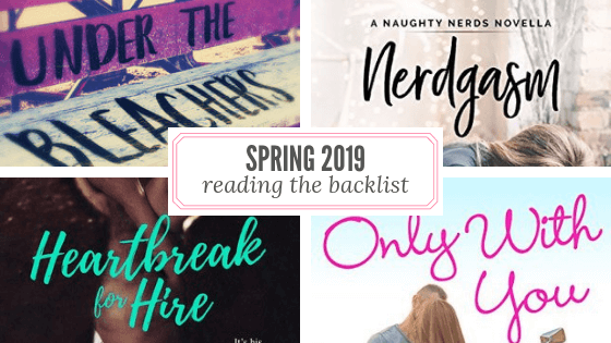 Spring 2019 Reading List