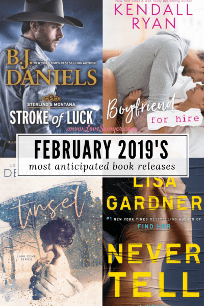 February 19, 2019 book releases