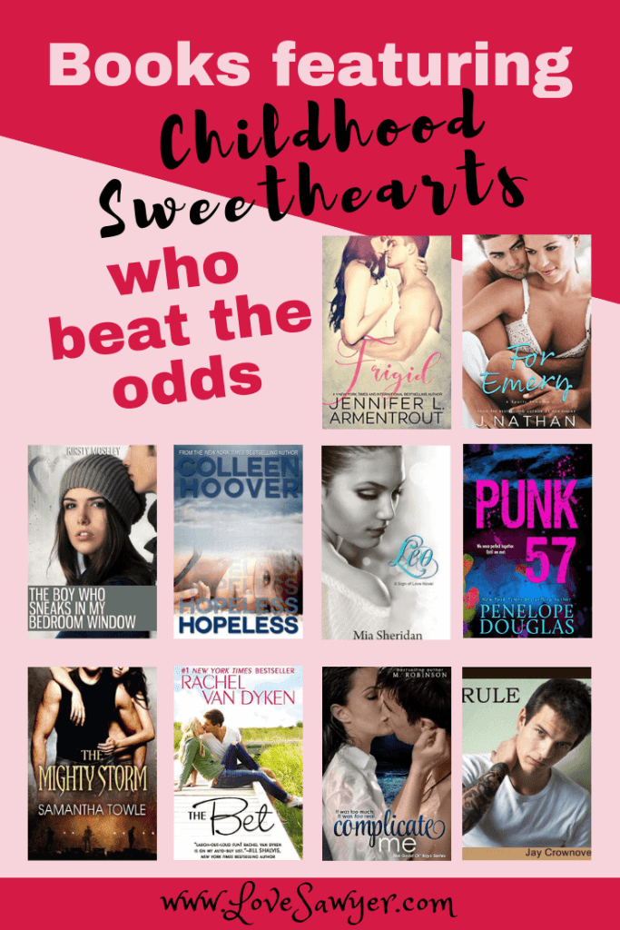 The love formed between childhood sweethearts is something special. Something to be cherished and celebrated. These childhood sweethearts beat the odds and found their happily ever afters together. You're going to love these romantic stories.