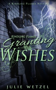 Leprechaun paranormal romance novels granting wishes by julie wetzel