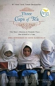 Vicarious Thrills books for the arm chair adrenaline junkie in us all Three Cups of Tea by Greg Motenson